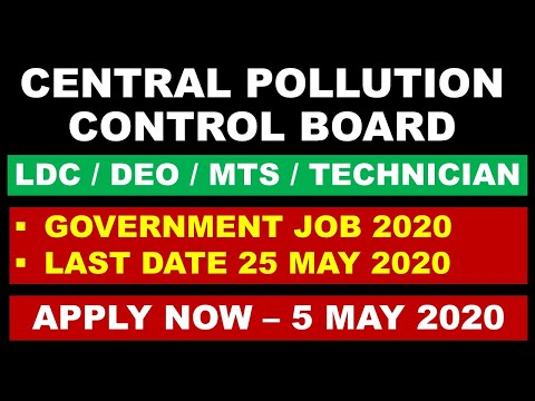 central-pollution-control-board-recruitment-2020-government-job-full-time-government-job-|-ldc