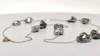 Collier Miua keshi perles de tahiti vidéo
