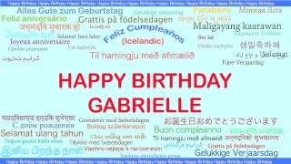 Gabrielle   Languages Idiomas - Happy Birthday
