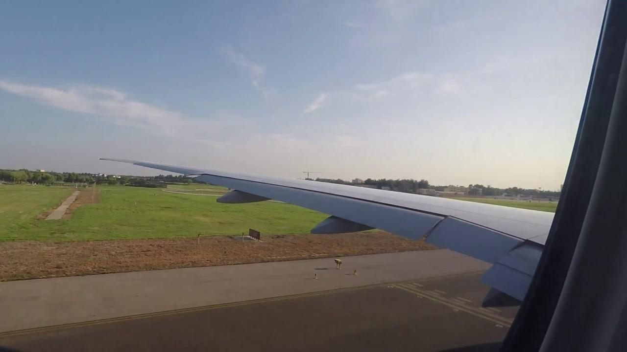 Take off flight #TG615 PEK-BKK (Beijing to Bangkok)by Thai Airways International - YouTube