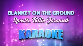 Spears, Billie Jo - Blanket On The Ground (Karaoke version with Lyrics)