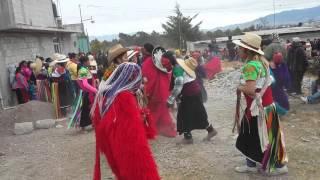 Carnaval de santa ana  hueytlalpan  barrio atlalpan 2016 en san felipe hidalgo