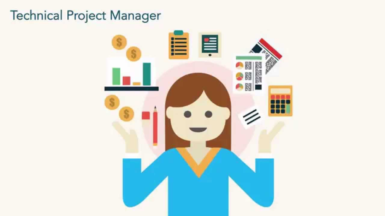 Project Management Logo: Technical Project Manager
