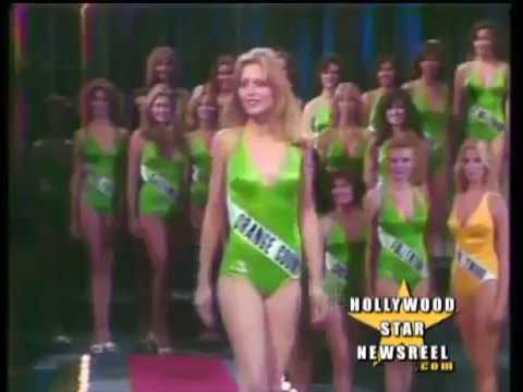 Michelle Pfeiffer In The 1978 Miss California Beauty Pageant