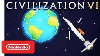 Sid Meier's Civilization VI - Announcement Trailer - Nintendo Switch