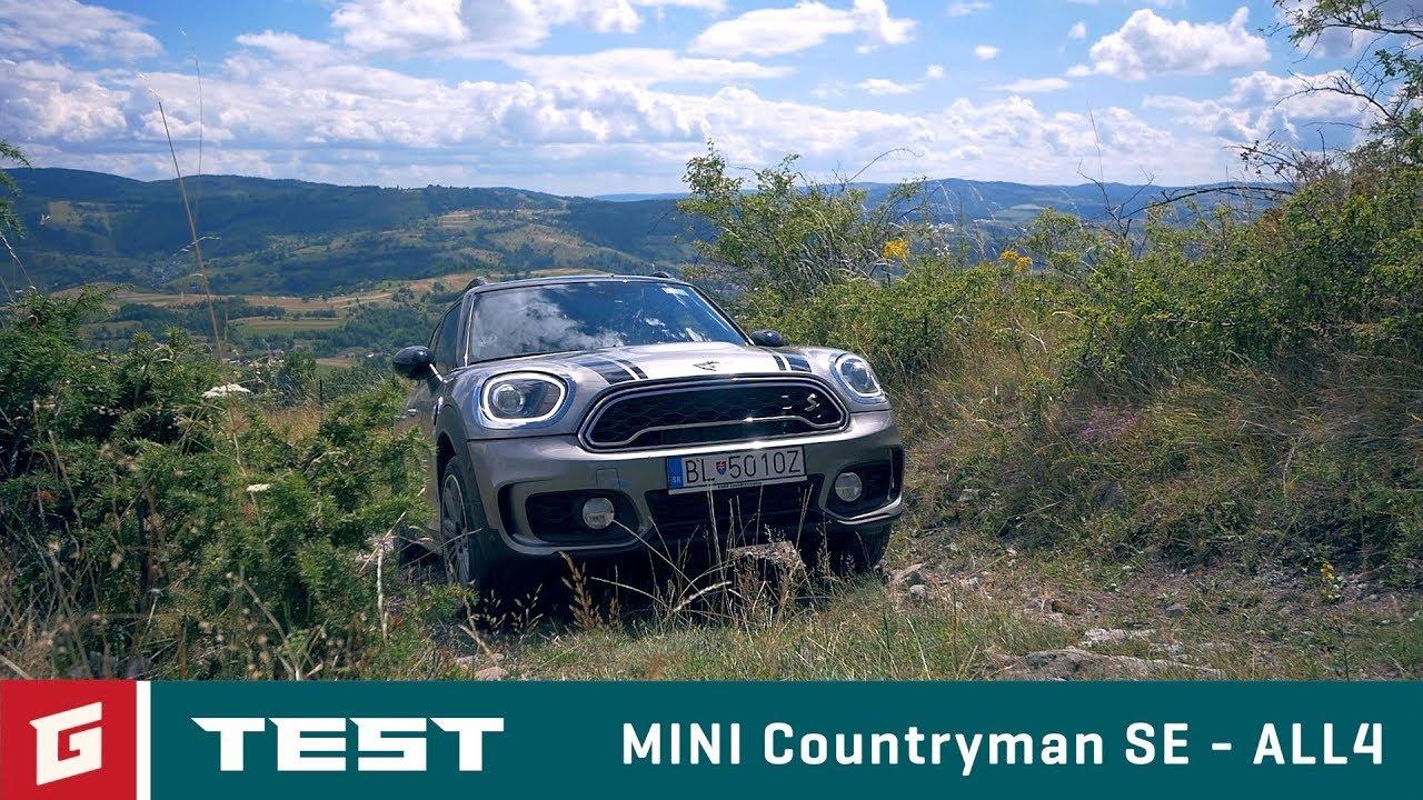 MINI Countryman SE ALL4 - SUV -TEST - GARAZ.TV - YouTube