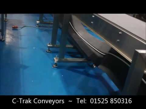 Buffalo Conveyor Belt Removal For Cleaning Youtube