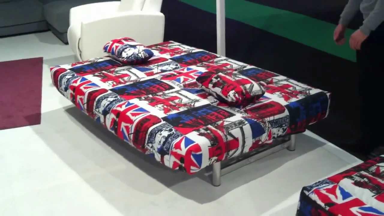 C mo se abre un sof cama de empuje youtube - Como hacer un sofa cama ...