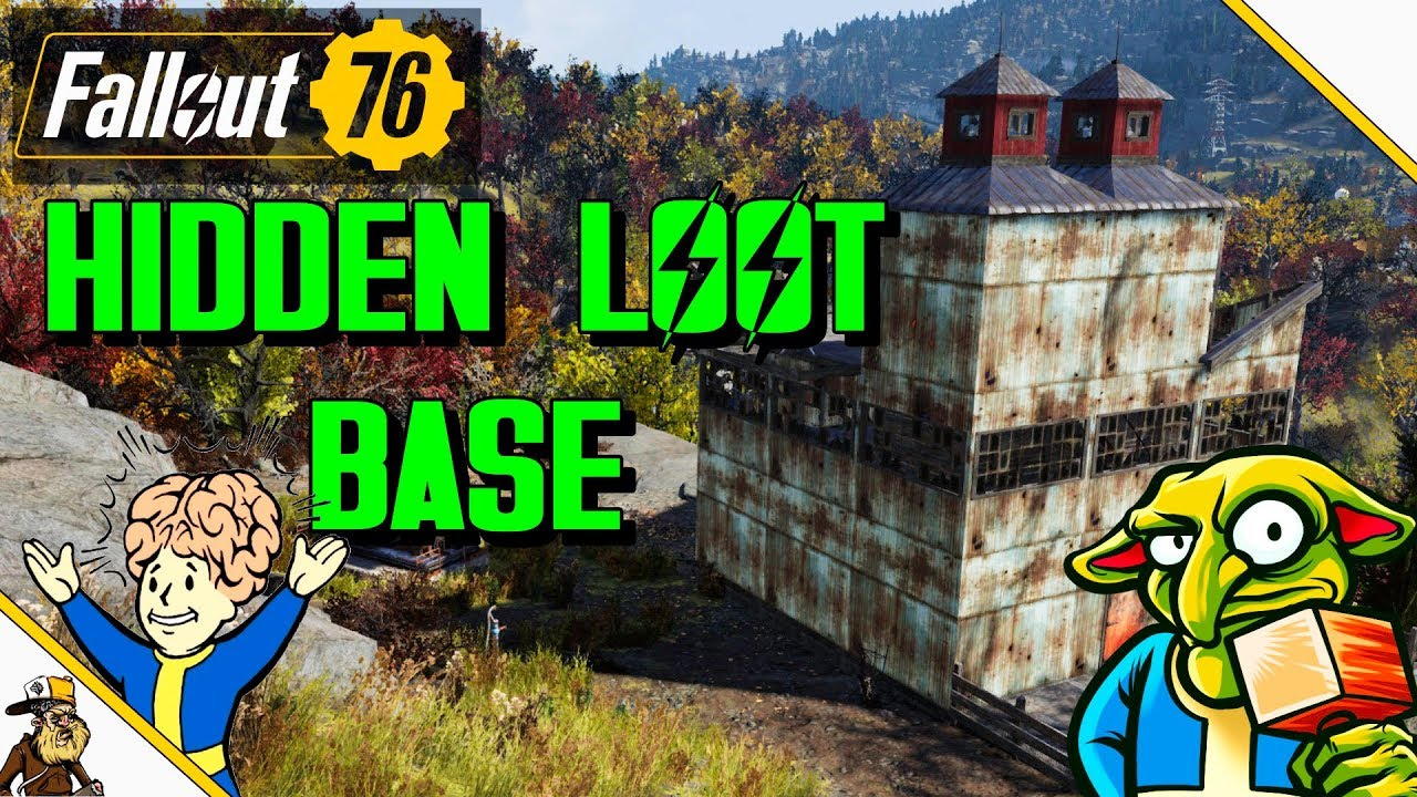 Fallout 76 Base Building (Fallout 76 Hidden Loot Room) Fallout 76 BETA