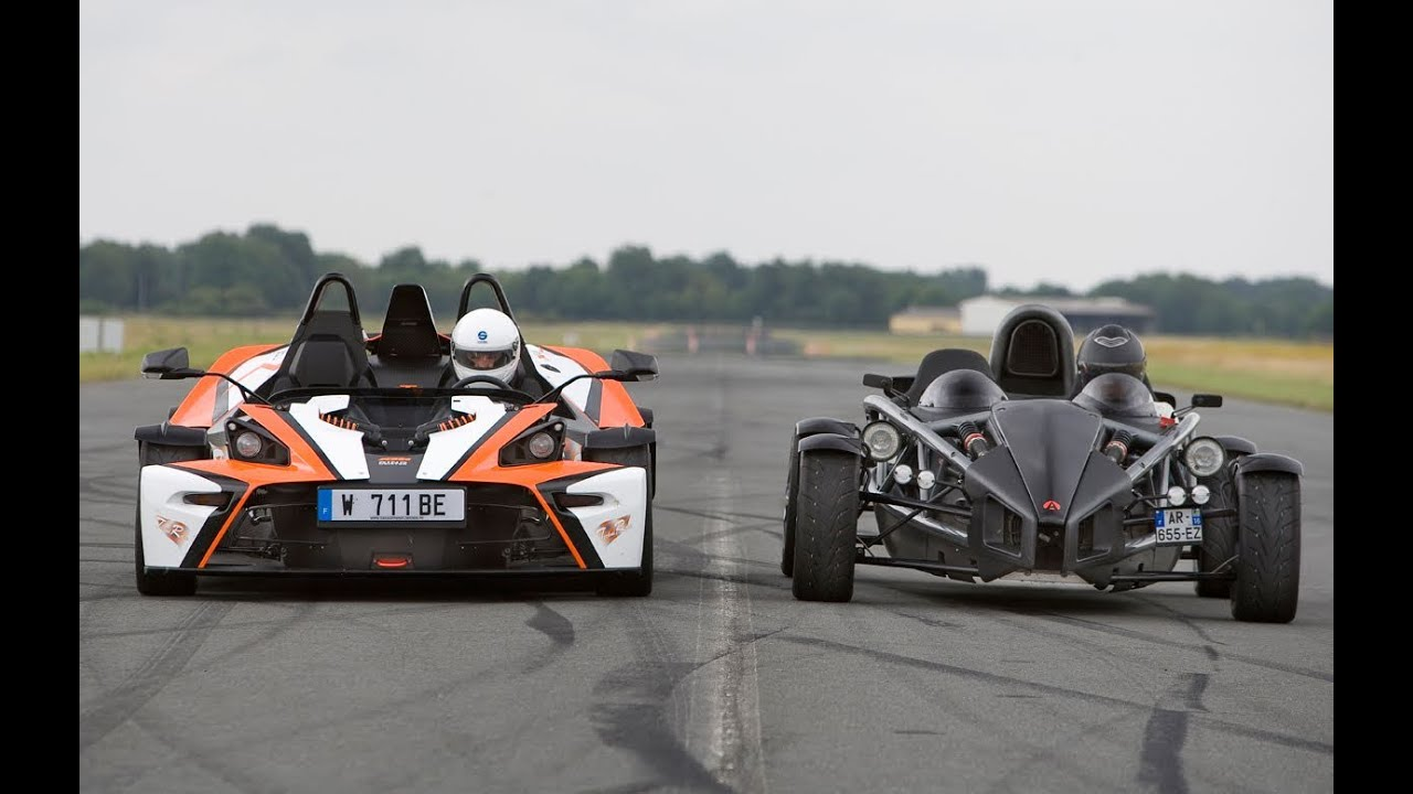 KTM X-Bow R VS Ariel Atom 300 accélération (Motorsport) - YouTube