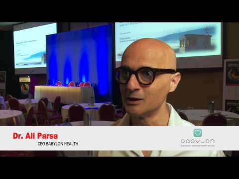 Dr Ali Parsa, Babylon Health CEO at Digital Health World Congress 2016