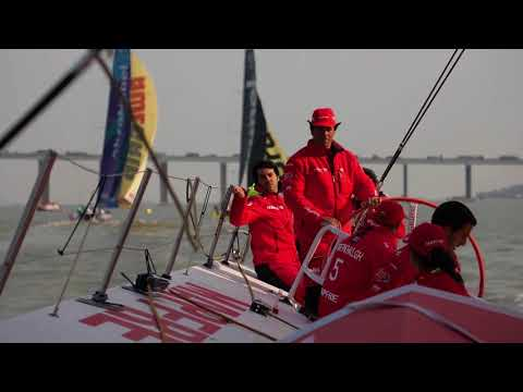 VOR 2017-18. In-Port Race MAPFRE claims top spot in China - Guangzhou