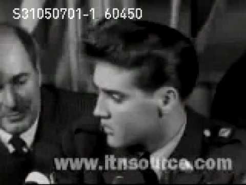 Elvis Presley Interview 1959-60