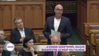 A Kanári-Szigetekről ingázik Budapestre az MSZP volt elnöke