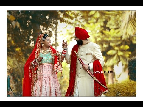 Best Punjabi Sikh Wedding | Deepkanwar + Loveleen | Cinematic Wedding  Same Day Edtit |