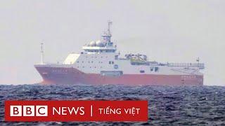 Bãi Tư Chính: Diễn biến mới khi Hải dương 8 quay lại biển Việt Nam - BBC News Tiếng Việt