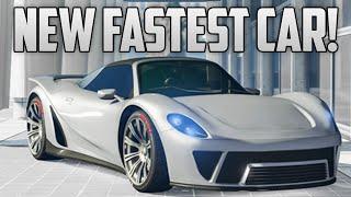 "GTA 5 Online - NEW FASTEST CAR! ""Pfister 811"" Is The FASTEST Car Online! (GTA 5 DLC Cars)"