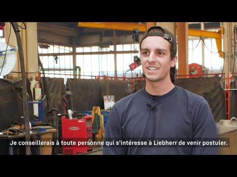 Liebherr - Devenir serrurier soudeur chez Liebherr-France SAS
