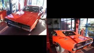 Dukes Racing - Restoration of the General Lee car in Ptolemaida Hellas