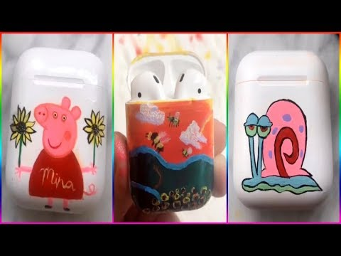 Best Painting Airpods Compilation On TikTok 2019
