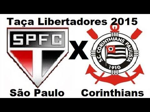 São Paulo 2 x 0 Corinthians - Libertadores 2015 - Jogo Completo