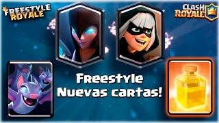 LA HISTORIA DE LAS NUEVAS CARTAS!! VERSION FREESTYLE!! | Navalha - Freestyle Royale