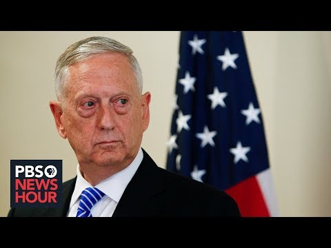 James Mattis on why he left the Trump administration but won't criticize it