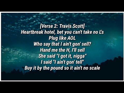 Travis Scott - NO BYSTANDERS (Lyrics) ft. Sheck Wes & Juice Wrld