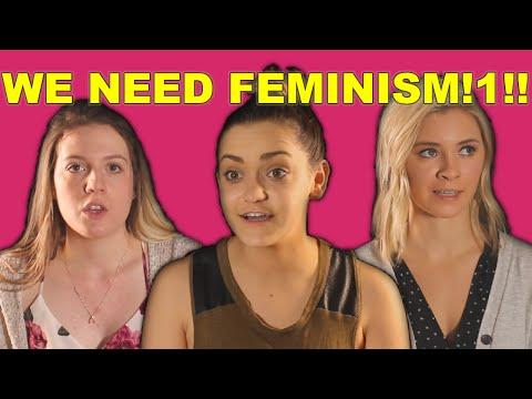 Lying Feminists Explain Why We Need Feminism