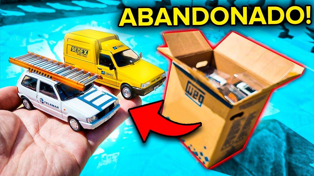 Download CARRINHOS BRASILEIROS ABANDONADOS NESSA CAIXA! GOL, UNO E MAIS MINIATURAS