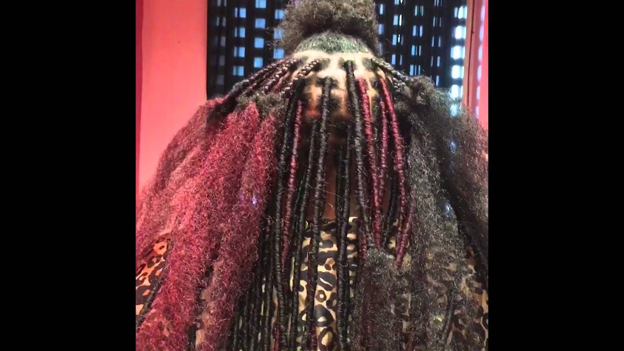 How to do Faux Locs Detailed using Cuban Twist  YouTube