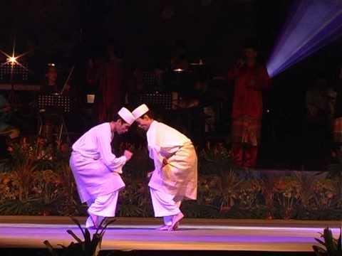 Zapin Nusantara - Persembahan pembukaan yayasan warisan johor