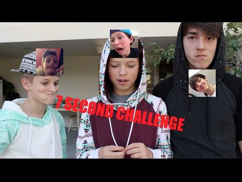 7 Second Challenge w/ Jacob Sartorius and Mark Thomas