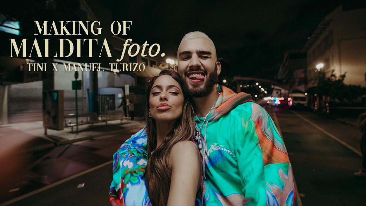 Making Of: ' Maldita Foto ' | TINI, Manuel Turizo