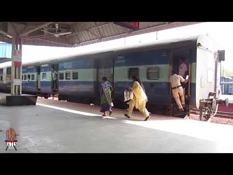It happens only in India!!! Train brakes & stops thrice to accommodate late passengers
