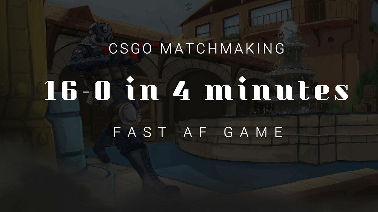 16-0 IN 4 MINS | Fastest CSGO Game