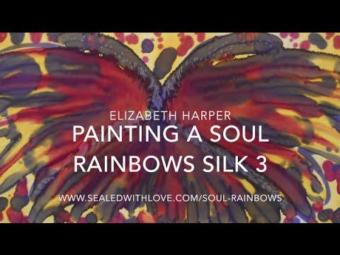 Painting a Soul Rainbows Silk 3