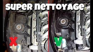 [TUTO] BIEN nettoyer votre compartiment moteur de voiture