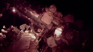 Spacewalk footage: NASA astronauts conduct repair works outside Intl Space Station