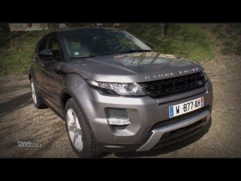 Crossover le Range Rover Evoque