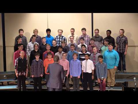 Charles City 7-12 grade Holiday Vocal Concert 2017