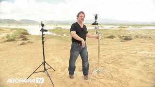 C-Stands vs. Straight Stands: Ep 129: Photo on the Go with Joe McNally: Adorama Photography TV