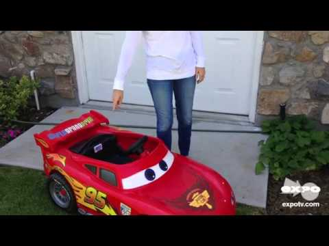 power wheels power wheels disney lightening mcqueen race car review