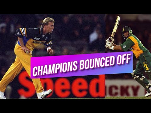 Australia Flat South Africa | Champions Bounced Off At Cape Town 2nd ODI 2000 Highlights