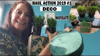 HAUL ACTION JANVIER 2019  GROS CRAQUAGE DÉCO NOUVEAUTÉ