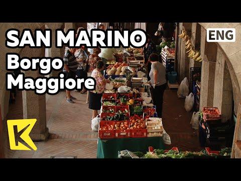 【K】San Marino Travel[산마리노 여행]보르고 마지오레, 7일장/Borgo Maggiore/Market/Agricultural produce