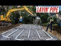 WATCH US LAY THIS BRAND NEW SEPTIC BED! (COMPLETION)