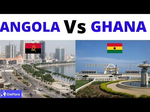 Angola Vs Ghana - Which Country is Better