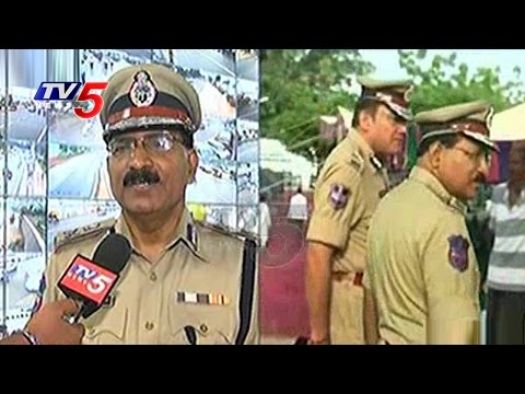 Tight Security Arrangements  for Ganesh Immersion | Hyderabad | TV5 News