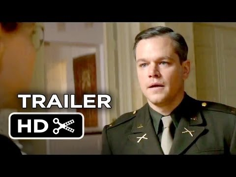The Monuments Men TRAILER 2 (2013) - George Clooney, Bill Murray Movie HD